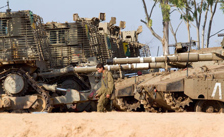 Израилийн арми бэлтгэл 16 мянган офицерийг зарлан дуудна