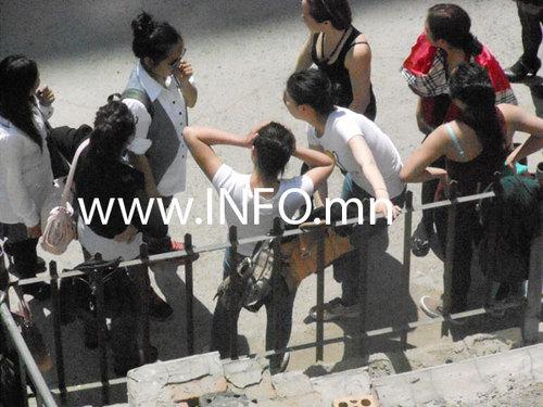 Сурагч охид зодолдов