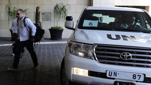 Москва НҮБ-ын шинжээчдийг Сирид буцаад очих уриалгыг дэмжив