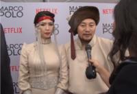 """Жүжигчин Б.Амарсайханы тоглосон """"Марко Поло"""" киноны нээлтээс хийсэн сурвалжлага"""