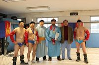 Британи дахь монголчууд үндэсний бөхөөр өрсөлдөв