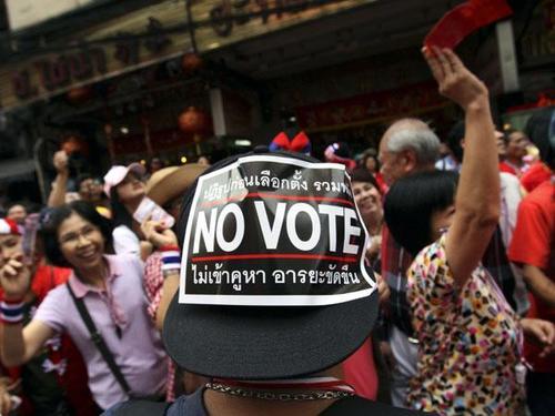 Таиландад ирэх 12 дугаар сард дахин сонгууль зарлахаав болов