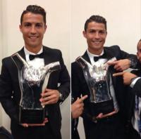 Криштиан Роналду Европын шилдэг хөлбөмбөгчин боллоо