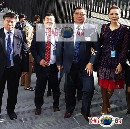 С.Эрдэнэ сайд хамаатнуудаараа НҮБ-ын 69 дүгээр тусгай чуулганд оролцжээ