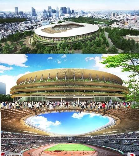 Токиогийн олимпийн  стадионы дизайн шалгарлаа