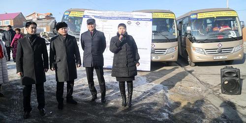 Сонгинохайрхан дүүрэгт нийтийн тээврийн шинэ чиглэл нээгдлээ