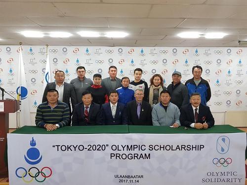 Токиогийн олимпийн наадмын тэтгэлэгт хамрагдсан тамирчид тэтгэлэгээ гардан авлаа