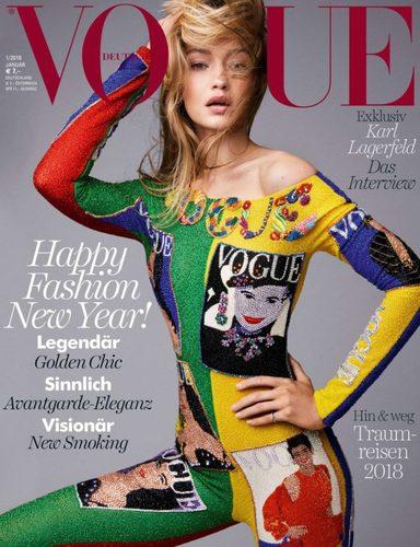 "Жижи Хадид Германы ""Vogue"" сэтгүүлийг чимэв"