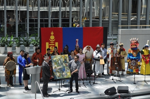 """""""Монголын өвийн өдөр"""" соёлын арга хэмжээ зохион байгууллаа"""