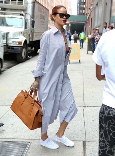 Street style: Рианнагийн этгээд хувцаслалтууд