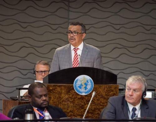 Дэлхийн эрүүл мэндийн байгууллагын Номхон далайн баруун бүсийн 69 дүгээр чуулган эхэллээ