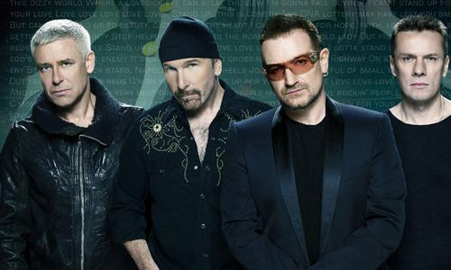 """""""U2"""" хамтлаг хамгийн их орлого олжээ"""