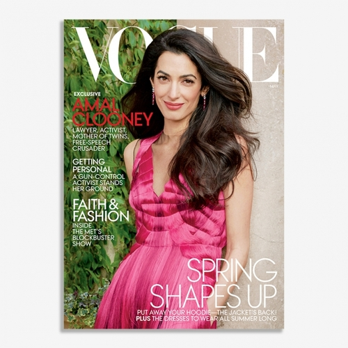 """Амаль Клуни """"Vogue"""" сэтгүүлийг чимлээ"""