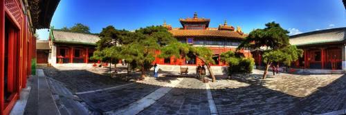 Манжийн төрд хүүгээ цаазлуулсан Чин Ван Ханддоржийн харуусал хоногших Юүнхэ гүн сүм