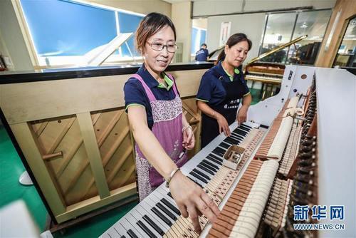 Жилд 50 мянган төгөлдөр хуур үйлдвэрлэдэг суурин