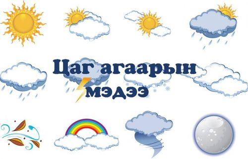Цаг агаарын мэдээ