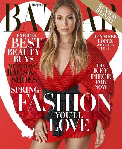 """Женнифер Лопес """"Harper's Bazaar"""" сэтгүүлийг чимэв"""