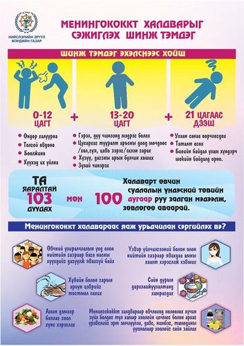 Менингококкт халдвараас сэргийлээрэй