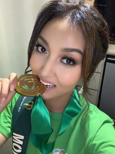 Мисс Ц.Аззаяа хоёр дахь алтан медалиа хүртлээ