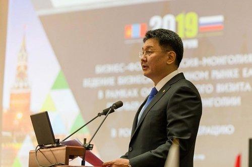 Ерөнхий сайд У.Хүрэлсүх Москва хотод болж буй Бизнес форумд үг хэлэв
