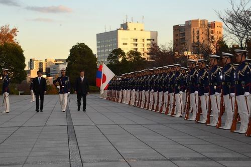Батлан хамгаалахын сайд Н.Энхболд Япон улсад айлчиллаа