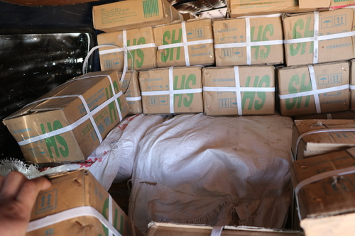350 кг гахайн өөх нууцаар хил нэвтрүүлэхийг завджээ