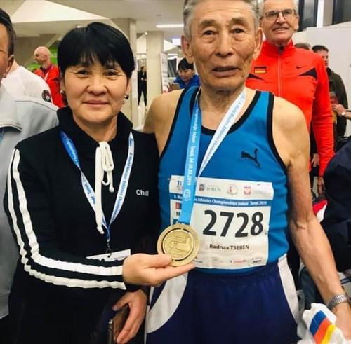 85 настай Ц.Раднаа 400м гүйлтийн Дэлхийн аварга боллоо