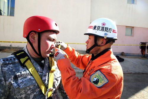 Япон, Монголын аврагчид харилцан туршлага солилцож байна