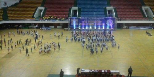 Уран хөдөлгөөнт гимнастикийн тэмцээнд 660 хүүхэд оролцож байна