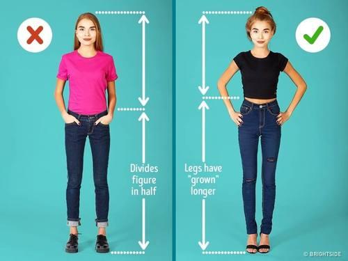 Өндөр нарийхан харагдахын тулд хэрхэн хувцаслах вэ