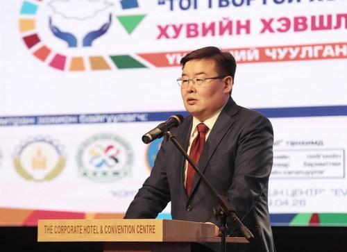 Г.Занданшатар: Монголын нийгмийг халамжийн биш бүтээмжийн нийгэм болгоё