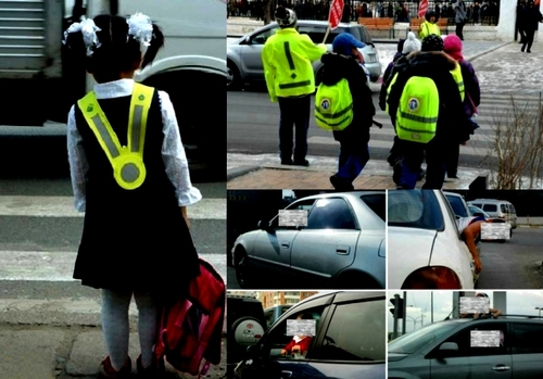 Хариуцлагагүй жолооч нарын буруугаас болж хүүхдүүд гарцан дээр бэртсээр...