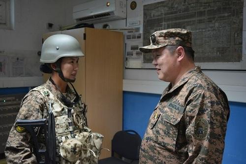 Цэргийн багийн үүрэг гүйцэтгэлттэй танилцлаа