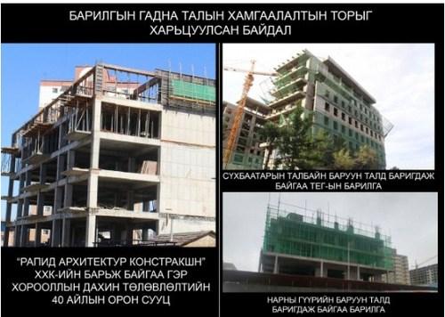 """""""Рапид Архитектур Констракшн"""" компанид хэн хариуцлага тооцох вэ"""