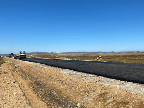 Цагааннуур-Улаанбайшинт чиглэлийн замыг 2022 онд хатуу хучилттай болгоно