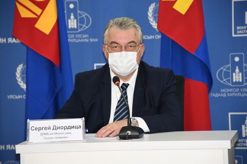 Сергей Диордица: ДЭМБ-аас томуугийн вирусийн эсрэг дархлаа үүсгэдэг вакциныг Монгол улсад өгч байна